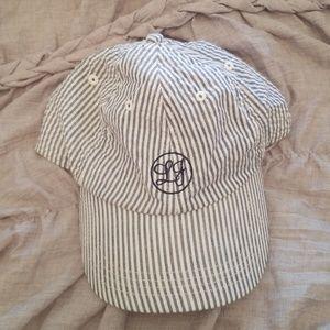 Lauren James Seersucker hat